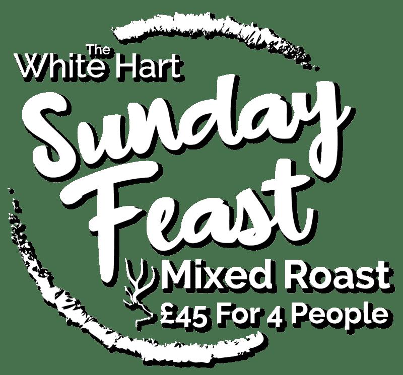 White Hart Sunday Roast